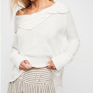 Free People We The Free Wildcat Thermal Top White